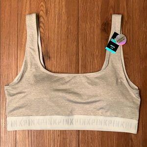NWT Victoria's Secret PINK sports bra size large